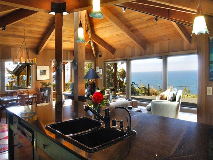 What You Can Buy For $1,000,000 - beautiful home in Gualala California