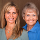 Carla Scheder and Pat Campbell-White of The Beachteam, Realtors with Ocean Atlantic Sotheby