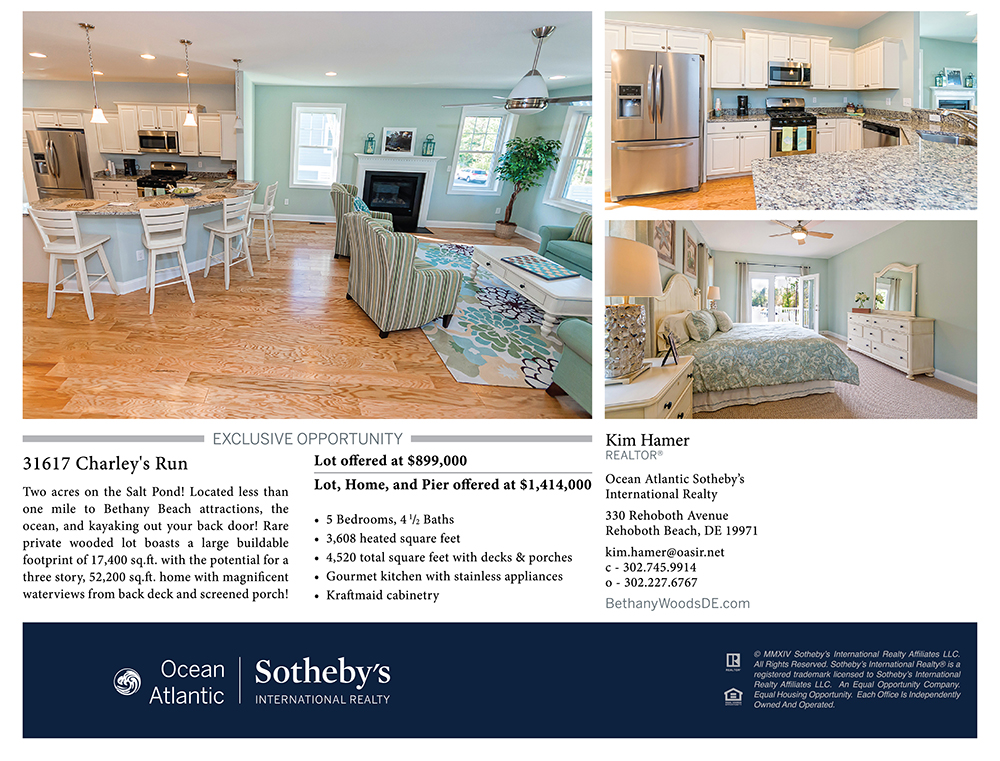 Bethany Woods, Bethany Beach, Delaware - model interior photos