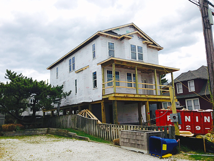 26 Atlantic Avenue, Bethany Beach, Delaware - under construction