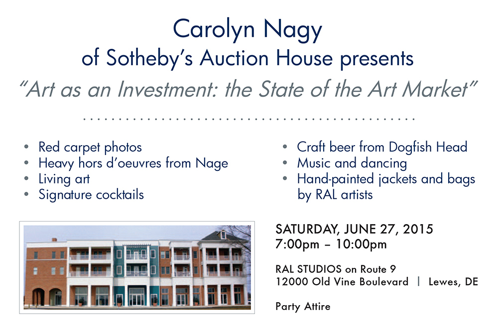 Ocean Atlantic Sotheby's International Realty of Rehoboth Beach, Delaware proudly presents Carolyn Nagy of Sotheby's Auction House at the Enchanted Forest Gala