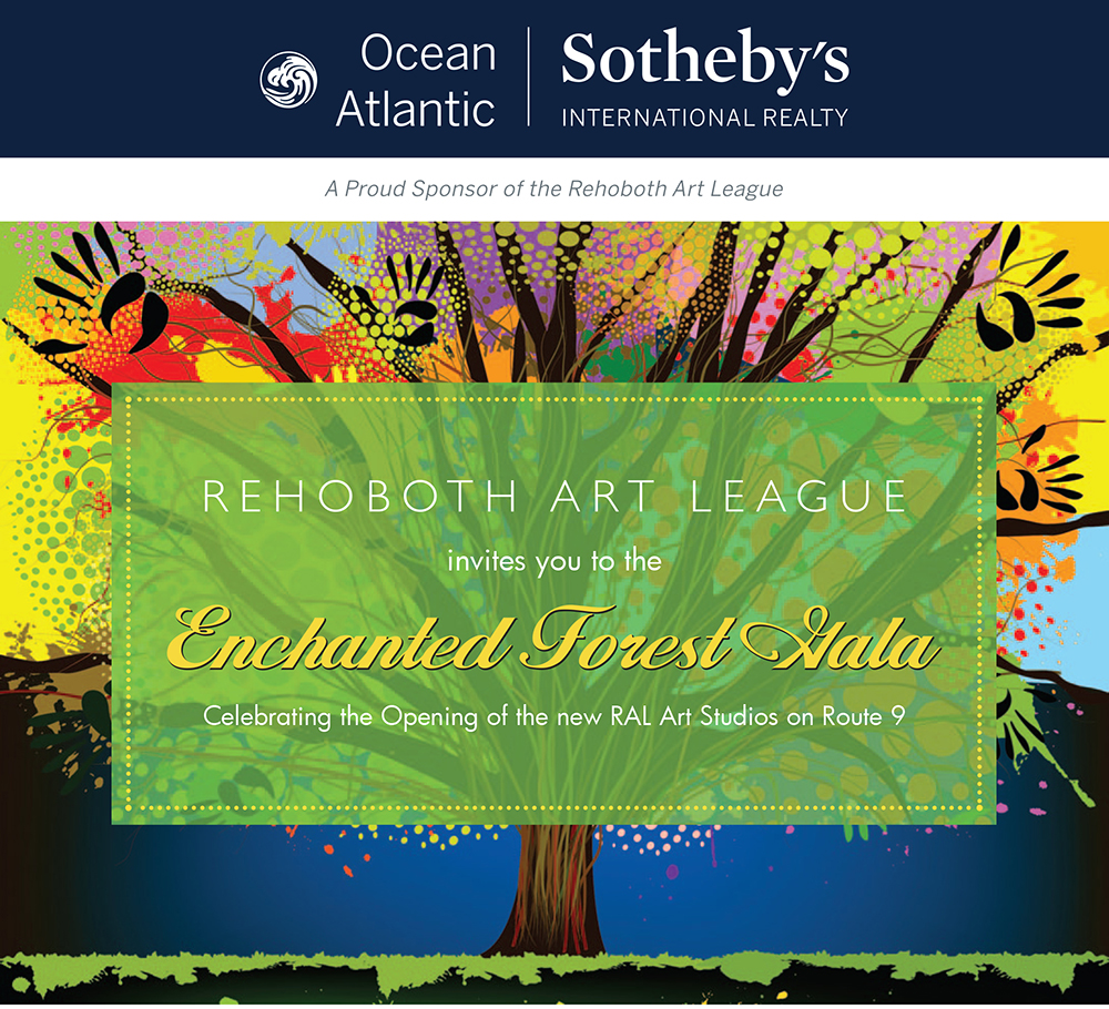 Ocean Atlantic Sotheby's International Realty of Rehoboth Beach, Delaware partners with the Rehoboth Art League for the Enchanted Forest Gala